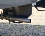 RV generator exhaust