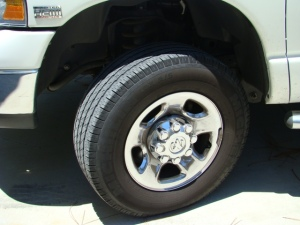 tow vehicle tires